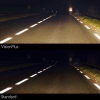 Галогенные лампы Philips Color Vision Blue H4 3350K 12V 55W - 2шт.