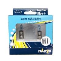 Галогенные автолампы Narva H1 Range Power Blue 3700K 98502 12V 55W