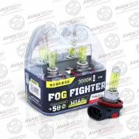 Галогенные автолампы Avantech H16 Fog Fighter 3000K 12V 19W (30W) - 2 шт.