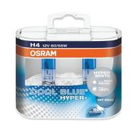 Галогенные автолампы Osram H4 Cool Blue Hyper + 5000K 64193CBH+-HCB 12V 94/84W