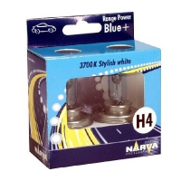 Галогенные автолампы Narva H4 Range Power Blue 3700K 48677 12V 60/55W