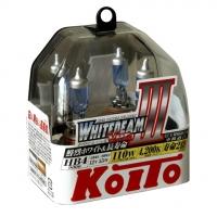 Галогенные лампы Koito Whitebeam HB4 4200K 12V 55W (110W) - 2 шт.