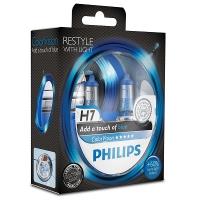 Галогенные лампы Philips Color Vision Blue H7 3350K 12V 55W - 2шт.