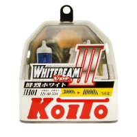 Галогенные лампы Koito Whitebeam III IH01 4000K 12V 60/55W (100/90W) - 2 шт.
