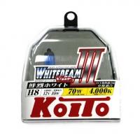 Галогенные лампы Koito Whitebeam H8 4000K 12V 35W - 2 шт.