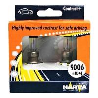 Галогенные автолампы Narva HB4 Contrast + 3000K 48020 12V 55W