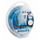 Галогенные лампы Philips Blue Vision H1 4000K 12V 55W - 2шт.