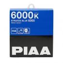 Галогенные автолампы PIAA H4 Stratos Blue 6000K 12V 60/55W (125/115W) - 2 шт.