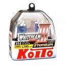 Галогенные лампы Koito Whitebeam III H4 4500K 12V 60/55W (135/125W) - 2 шт.