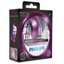Галогенные лампы Philips Color Vision Purple H7 3350K 12V 55W - 2шт.