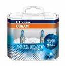 Галогенные автолампы Osram H1 Cool Blue Intense 4200K 64150CBI-HCB 12V 55W