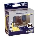 Галогенные автолампы Narva H4 Range Power White 4500K 48680 12V 60/55W