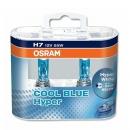 Галогенные автолампы Osram H7 Cool Blue Hyper 5000K 62210CBH-HCB 12V 55W