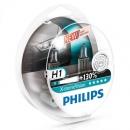 Галогенные лампы Philips X-treme Vision H1 3700K 12V 55W - 2шт.
