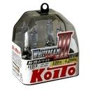 Галогенные лампы Koito Whitebeam III HB3 4200K 12V 65W (120W) - 2 шт.