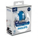 Галогенные лампы Philips White Vision H7 4300K 12V 55W + w5w 12V 5W - 2шт.