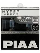 Галогенные лампы Piaa Hyper Arros H11 3900K 12V 55W (100W) - 2 шт.