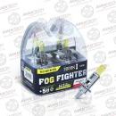 Галогенные автолампы Avantech H1 Fog Fighter 3000K 12V 55W (100W) - 2 шт.